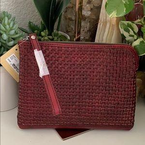 PATRICIA Nash wristlet pouch 👝 Small Woven